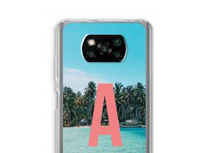 Diseña tu propia funda monograma para Xiaomi Poco X3 NFC