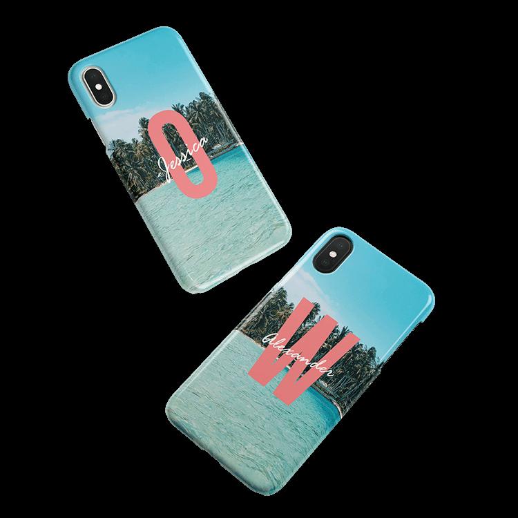 Pon tu monograma en una funda para One M8 smartphone